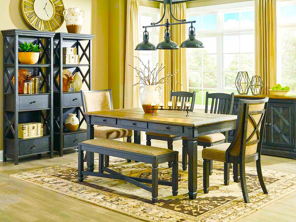 Tyler Creek Host Dining Room at MJM Furniture in Coquitlam