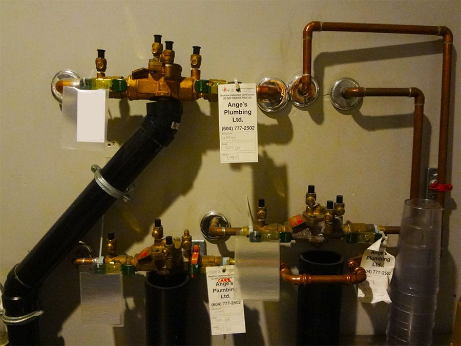 Ange's Plumbing Backflow Inspection at the Hard Rock Cafe