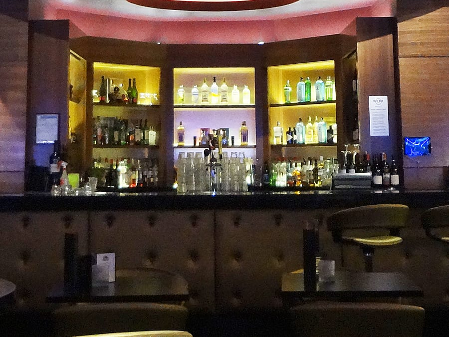 Ange's Plumbing installed a fabulous new bar at Hard Rock Casino