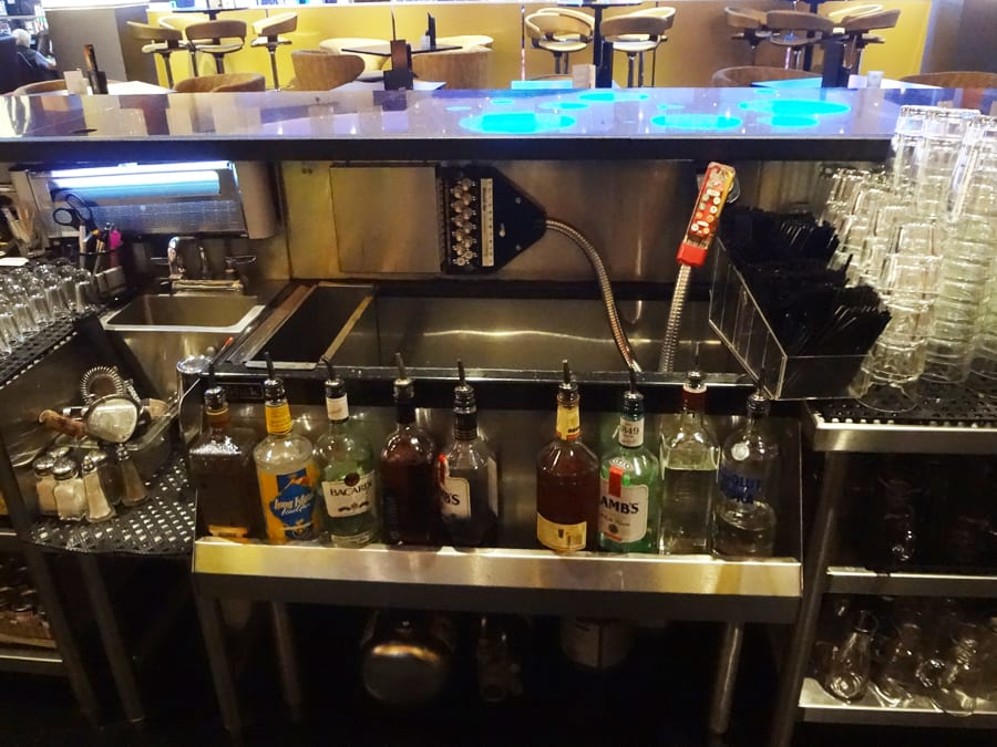Ange's Plumbing install bar at Hard Rock Casino