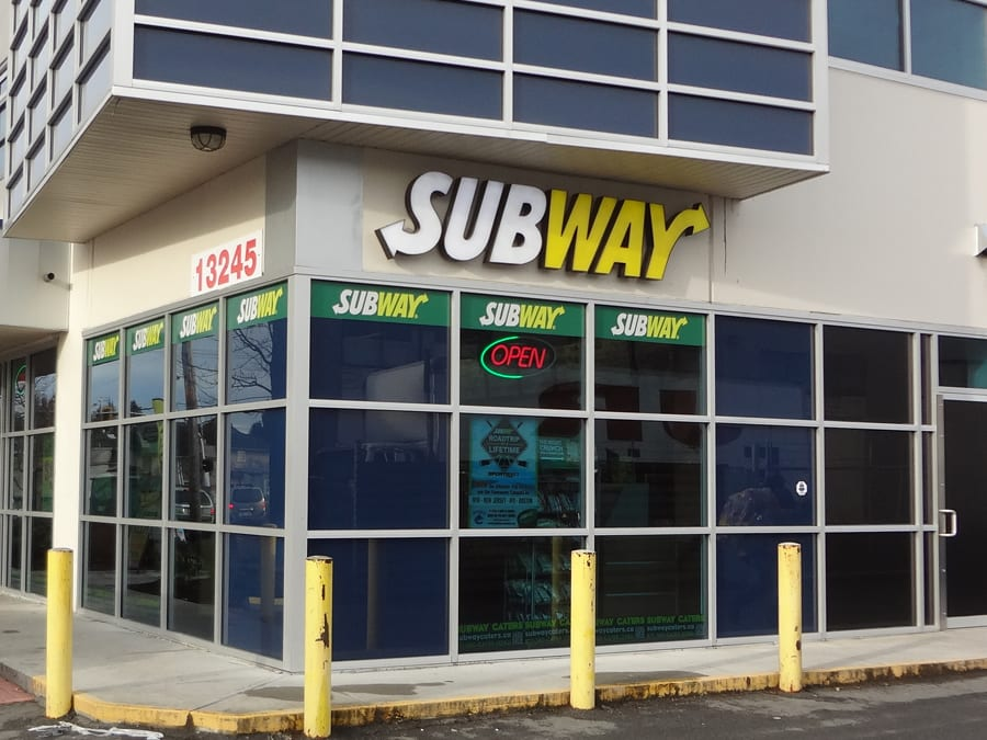 Ange's Plumbing renos Subway outlet