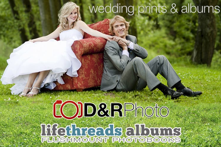 D&R Photo ~ lifethreads ablums - Wedding Prints and Wedding Albums