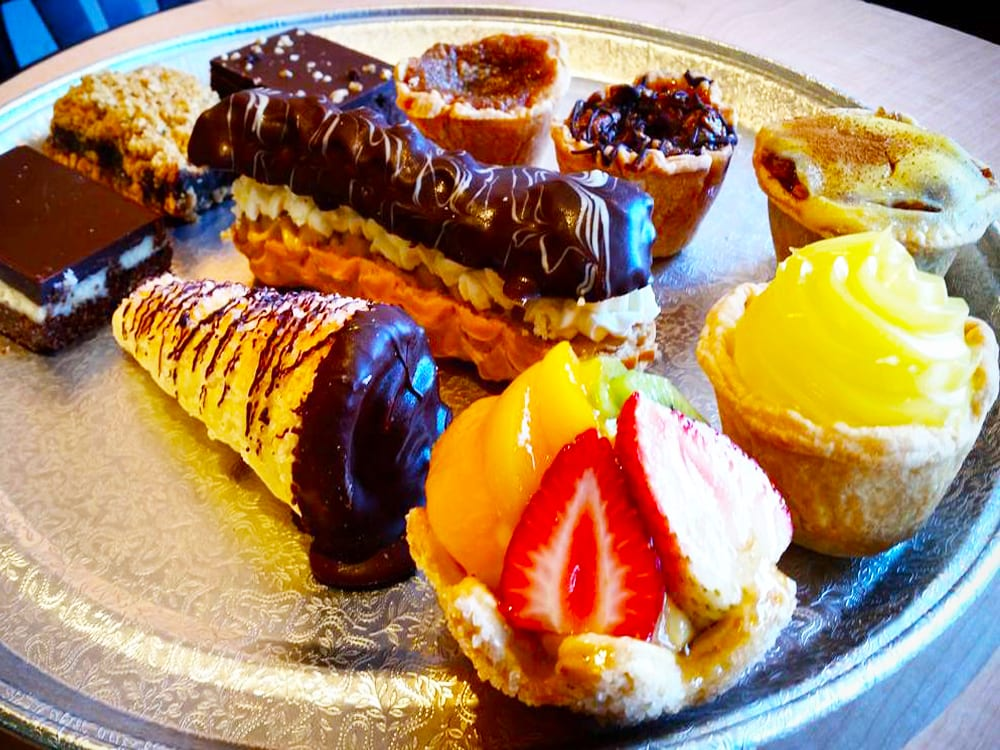 Dessert Tray at Steveston Bakery