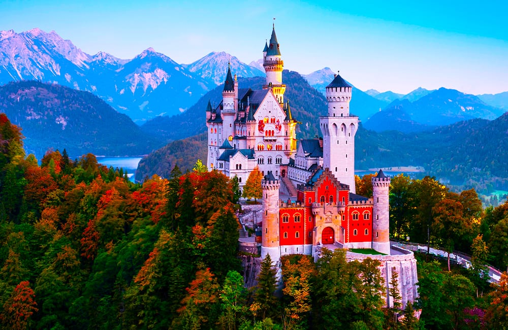 Explore Neuschwanstein Castle in Germany with Columbus World Travel
