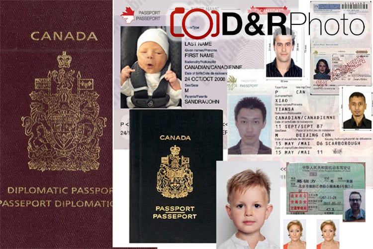 Fast, professional, specified Passport Photos, PR Photos, and ID photos at D&R Photo
