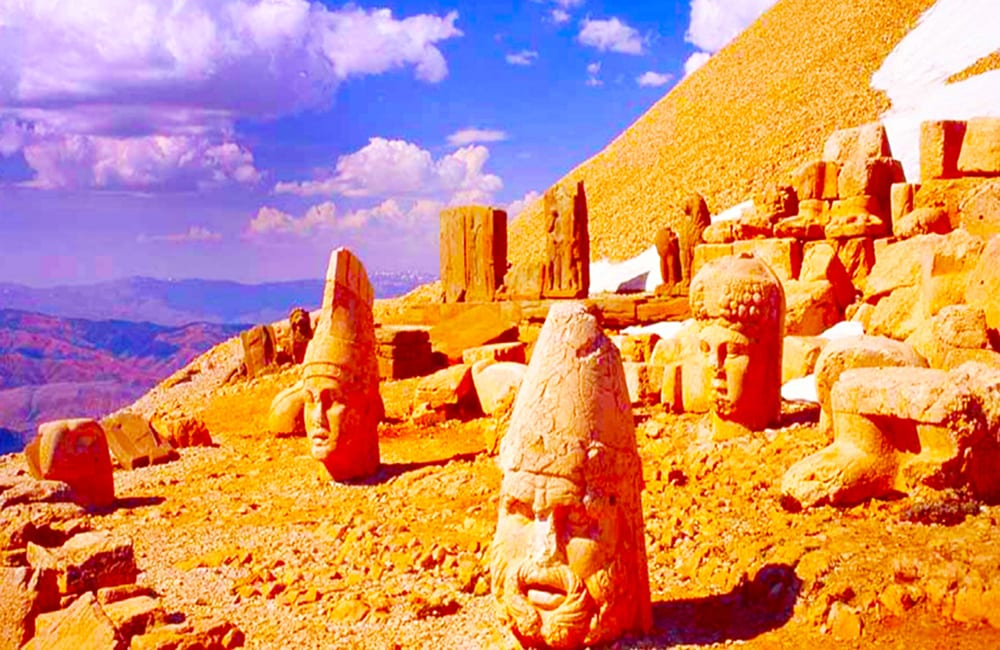 Hike Mount Nemrut in Turkey with Columbus World Travel on Best in BC