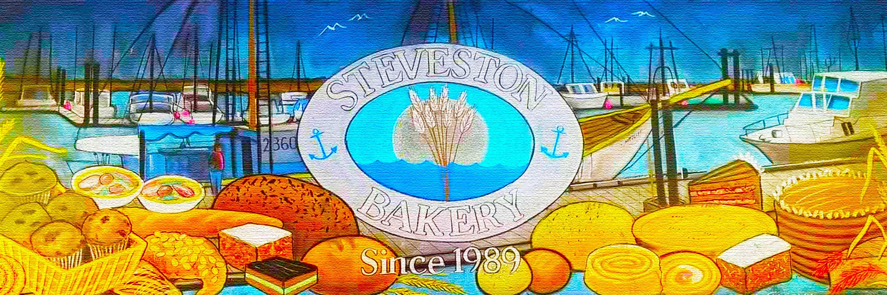 Steveston Bakery in Historic Steveston Village on Best in BC