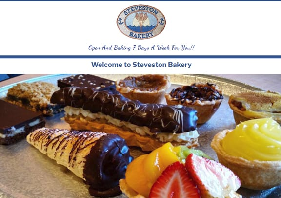 Steveston Bakery on Best In BC