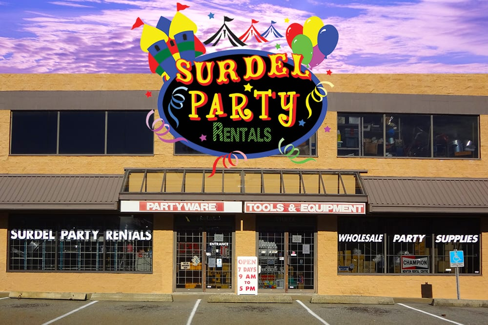 Surdel Party Rentals on Best in BC