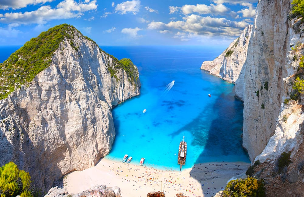 Swim at Zakynthos, Greece with Columbus World Travel on Best in BC