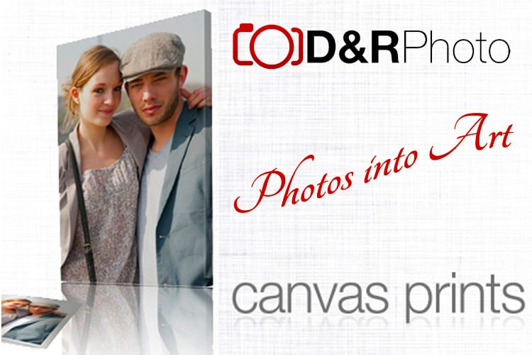 Turn your photos into Art on Canvas at D&R Photo