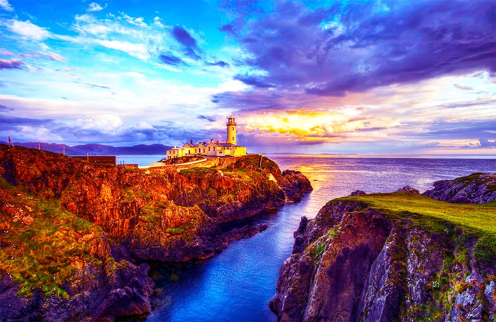 Visit Fanad Lighthouse in Donegal Ireland with Columbus World Travel