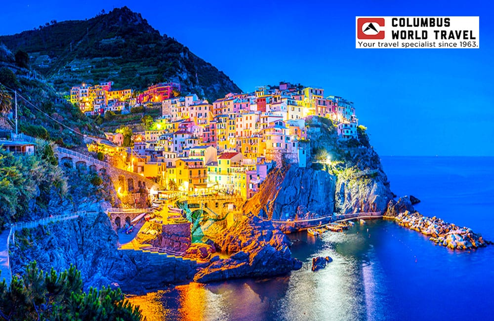 Visit Manarola Italy with Columbus Travel on Best in BC