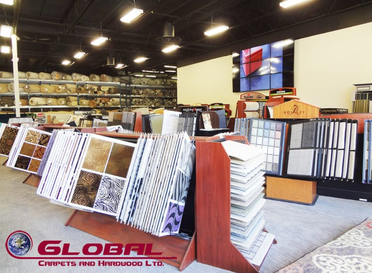 So many carpets to choose from at Global Carpets and Hardwood Ltd