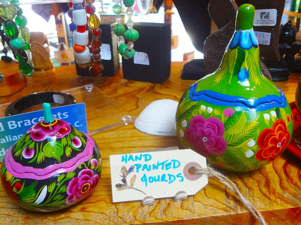 Beautiful lacquered gourds from Olinala, Guerrero Mexico at Ixchel Galiano Craft Shop
