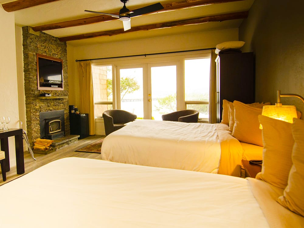 Double Queen Room at Galiano Oceanfront Inn and Spa