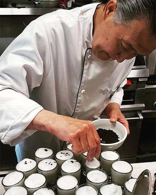 Executive Chef Sekihata Katsuyuki at Woodstone Manor