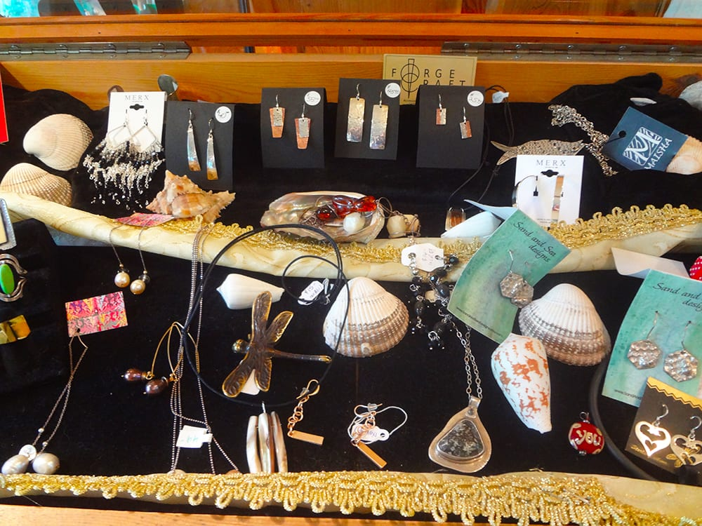 Forge Craft Jewelleryand Sand and Sea Designs Jewellery at Ixchel Galiano Craft Shop