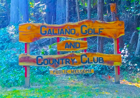 Galiano Golf and Country Club on Best in BC
