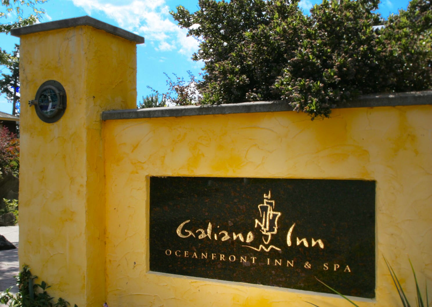 Galiano Oceanfront Inn and Spa welcomes you