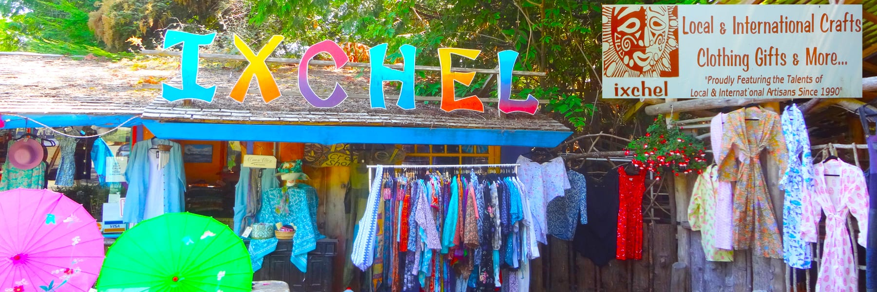 Ixchel on Galiano - Local and International artisan Clothing, Gifts Jewellery and so much more