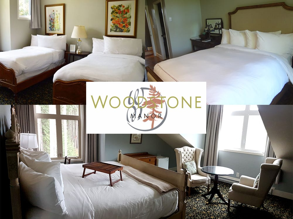 Luxurious Twin, King, and Queen Rooms at Woodstone Manor on Galiano Island