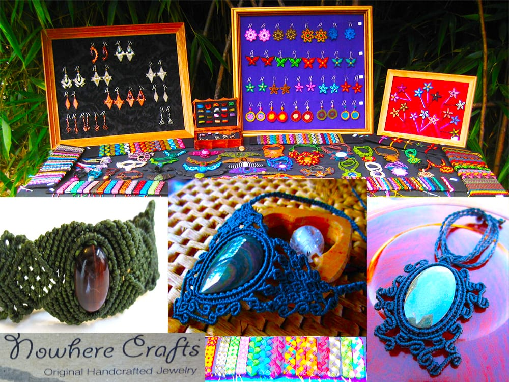 Nowhere Crafts Original Handcrafted Jewelry at Ixchel Galiano Craft Shop