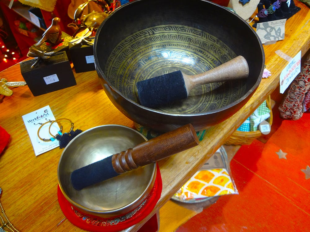 Tibetan Singing Bowl at Ixchel Galiano Craft Shop