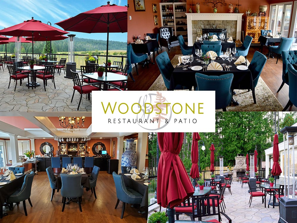 Woodstone Restaurant and Patio on Galiano Island