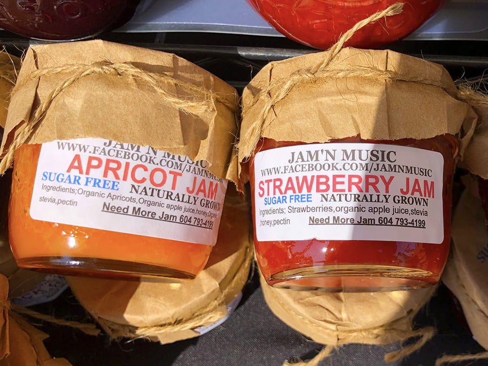 Apricot and Strawberry SUGAR FREE JAMS ~ Sugar Free, Naturally Grown by Jam'n Music