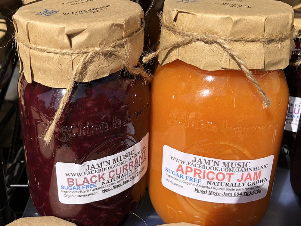 Black Current Sugar Free Jam and Apricot Sugar Free Jam by Jam'n Music