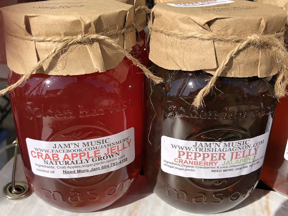 Crab Apple Jelly and Cranberry Jalapeno Pepper Jelly by Jam'N Music