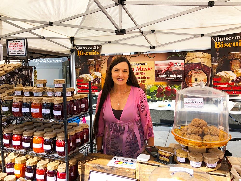 Jam'n Music by Trisha Gagnon makes Jams, Jellys, Marmalades, Buttermilk Biscuits and music
