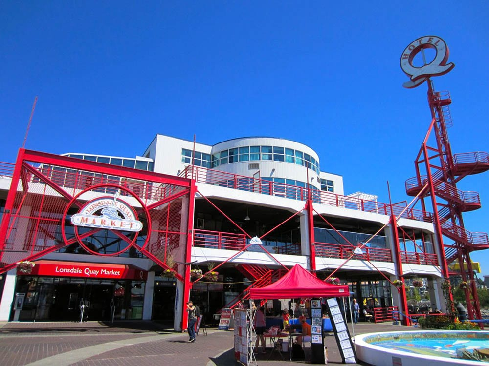 The All-Day Cafe is located in the iconic Lonsdale Quay