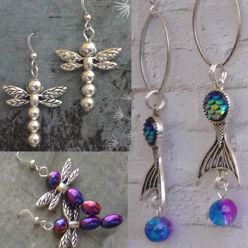 Get your inner Mermaid or Dragonfly on at Kimi Designs Jewellery