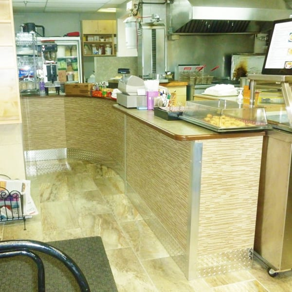 Small Commercial Eatery Customer Service Area