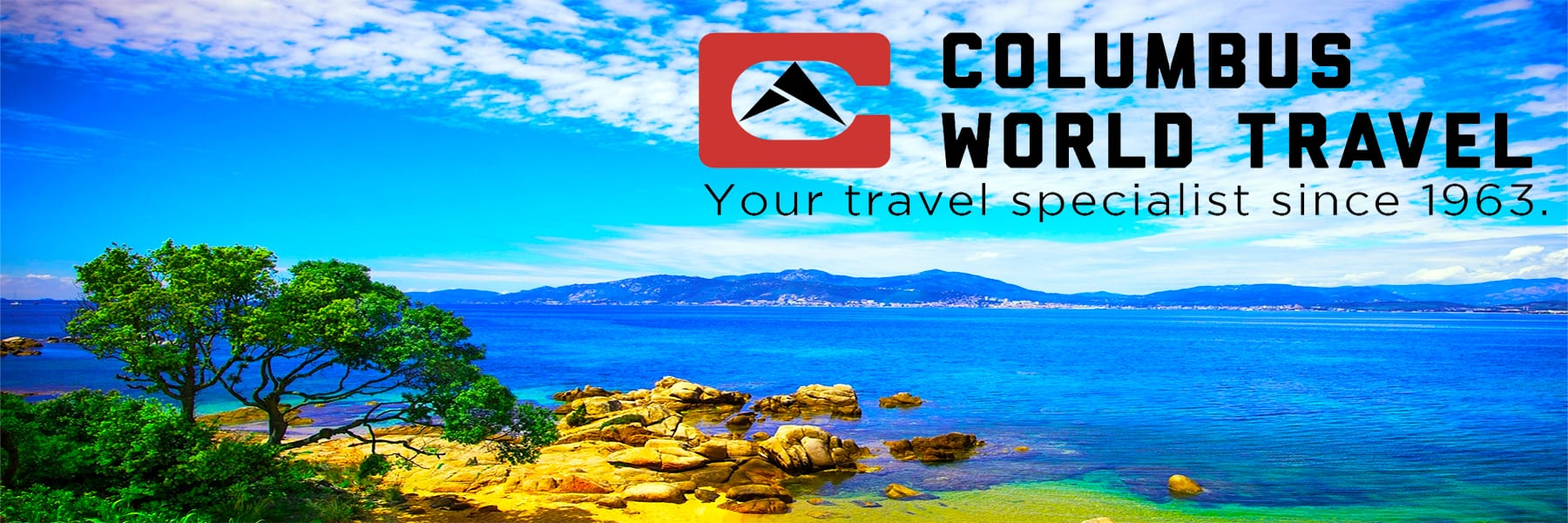 Columbus World Travel = your travel specialists